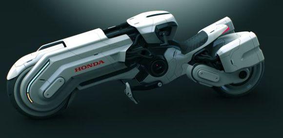 Honda chopper concept motorcycle