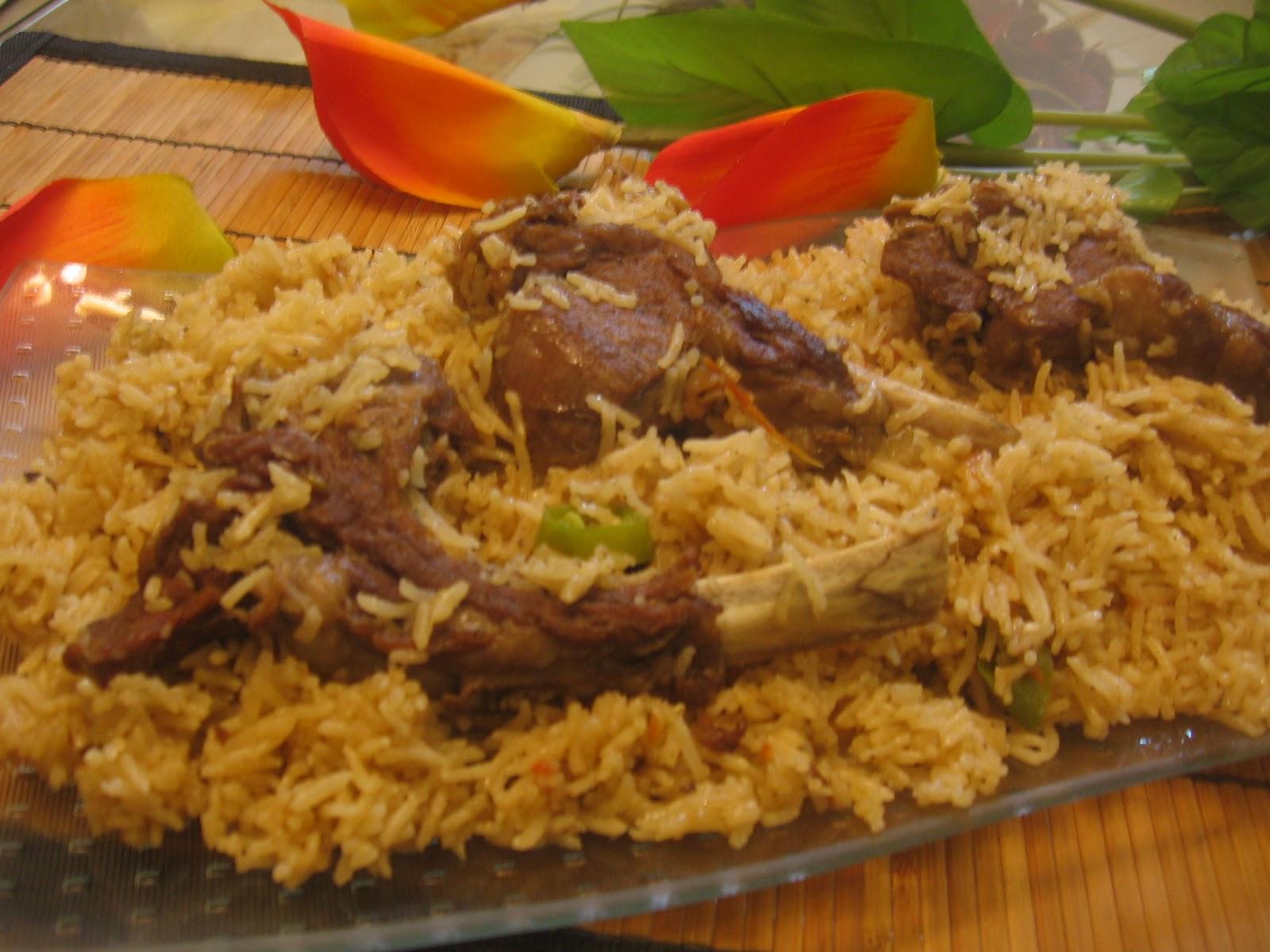 Mutton Chop Pulao/Yakhni Pulao - Maina'z Cookbook