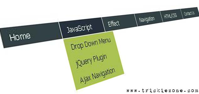 Simple Drop Down Menu With jQuery For Blogger