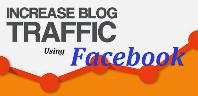 get Increase Blog website Traffic from Facebook image photo