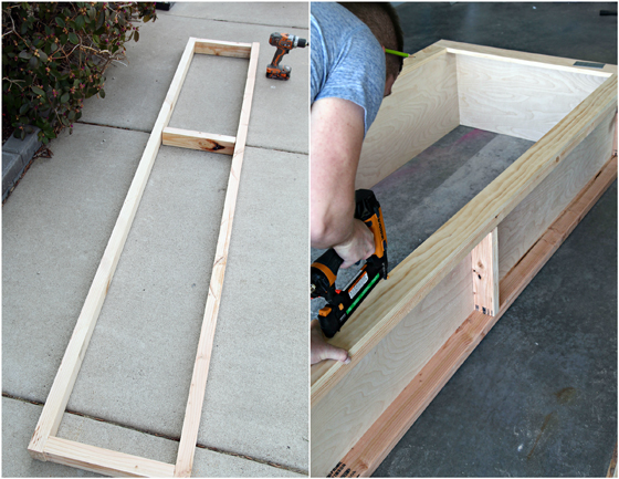 ... for the bookcase walls using the poplar 1x4 s on the bookcase faces