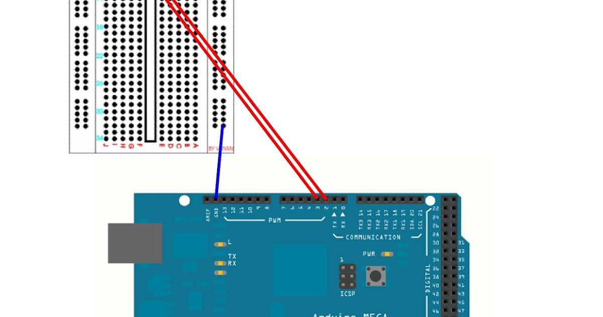 Interrupt pin in arduino mega