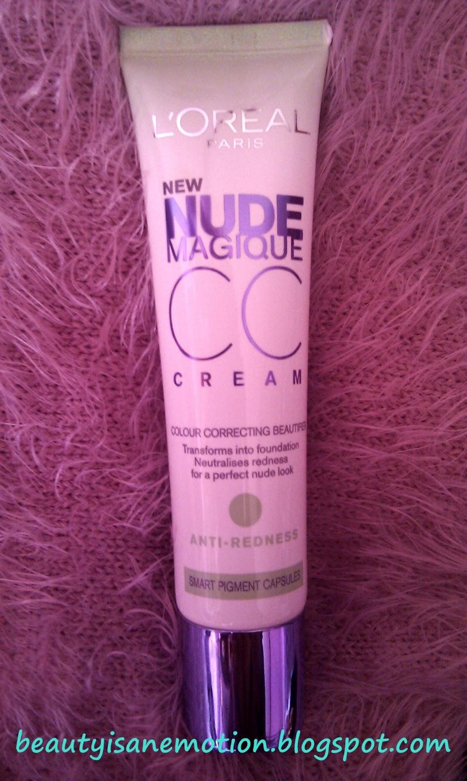 Review CC Cream nude magique