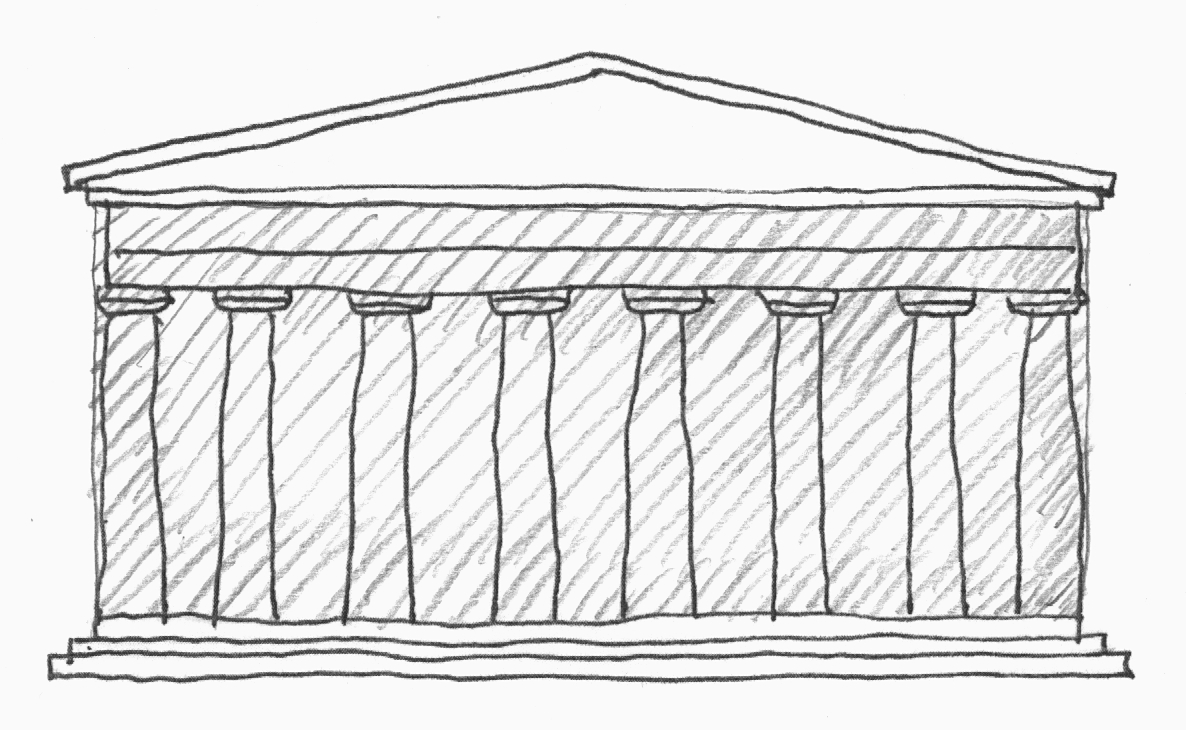 an analysis of the implementation of the golden ratio in the design of the parthenon Design & analysis of algorithm binary tree 2 lect-10, s-3  called golden mean-the ratio of a:1 gives the most  the parthenon and.