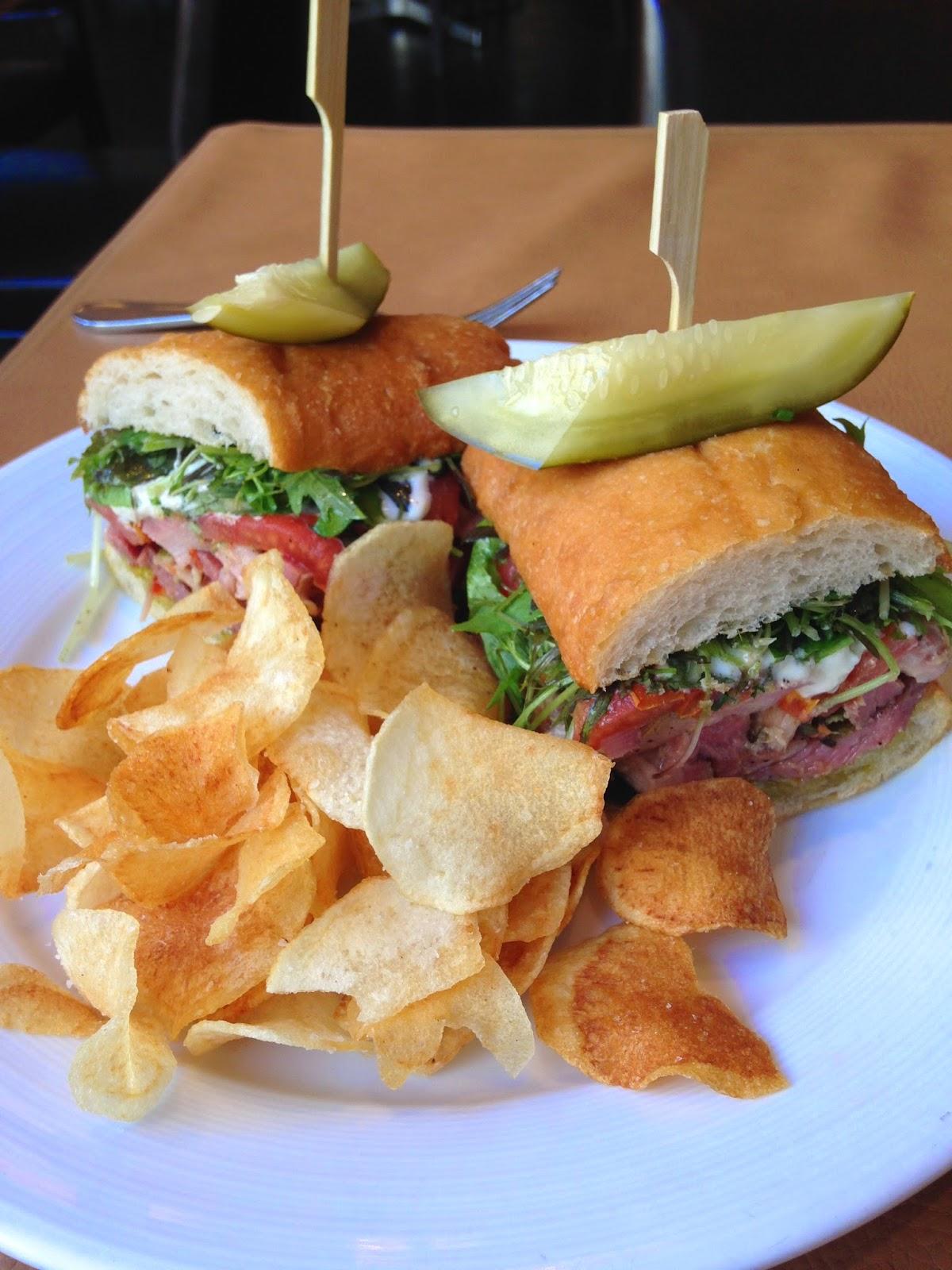 Porchetta Steak Sandwich