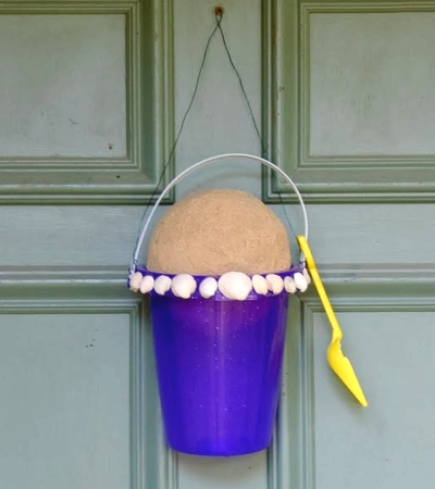 Front Door With Beach Bucket