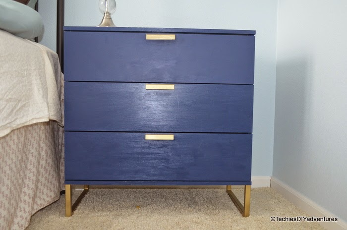Navy Blue Dresser, Royal Blue Dresser
