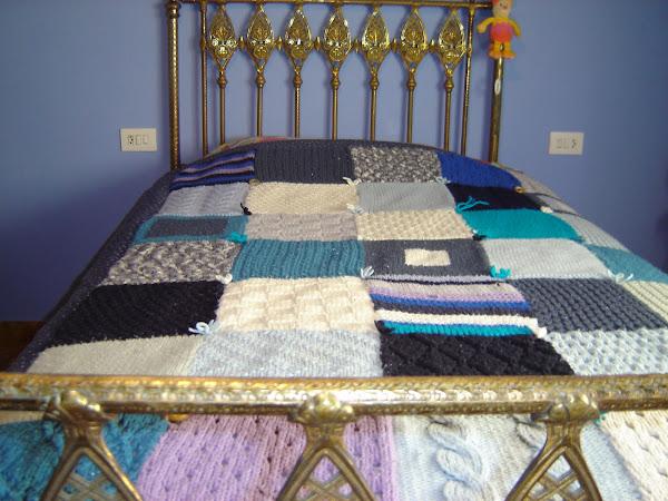 Colchas de punto de lana imagui for Colchas de punto de lana