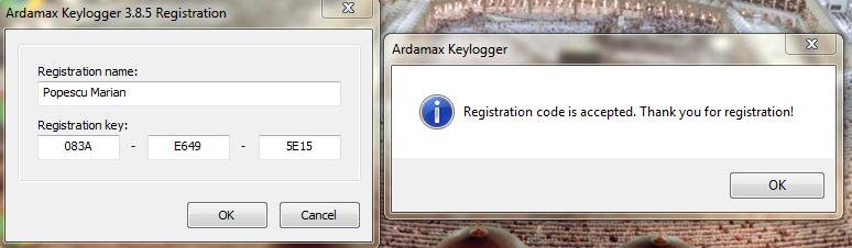 ardamax keylogger 5 registration key