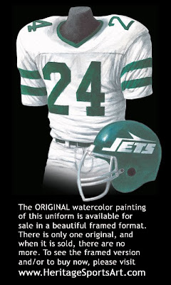 New York Jets 1978 uniform