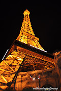 The Eiffel Tower at Paris Hotel Las Vegas. Feels like in Paris now. (dsc )