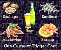 Makanan Penyebab Asam Urat