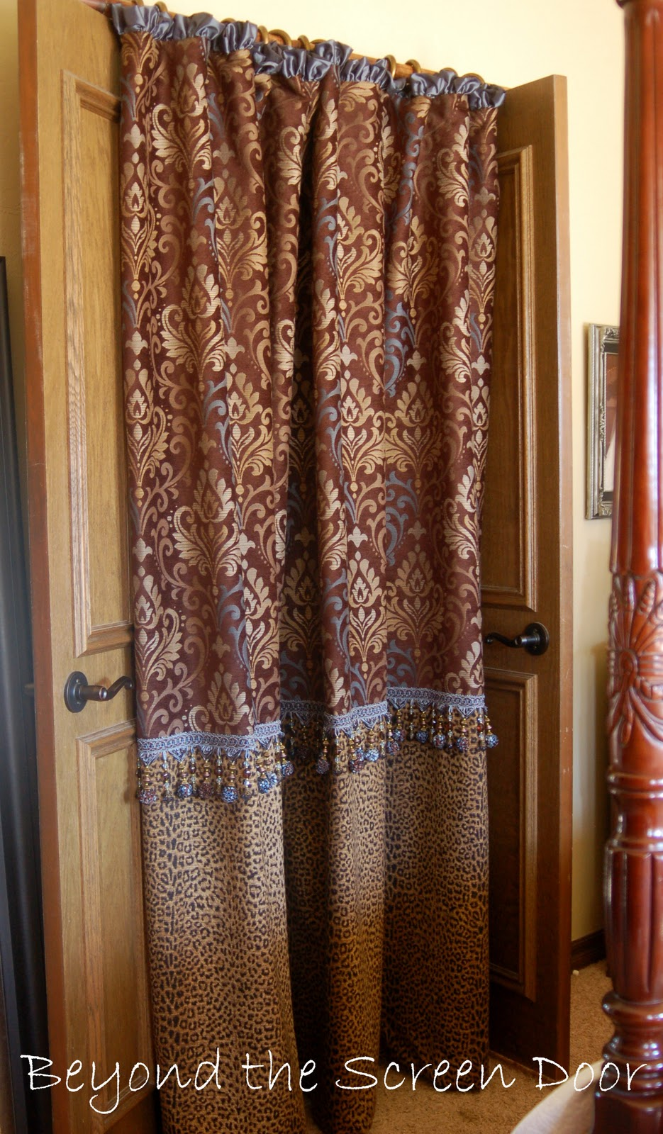 Beyond The Screen Door A Custom Shower Curtain For Robin