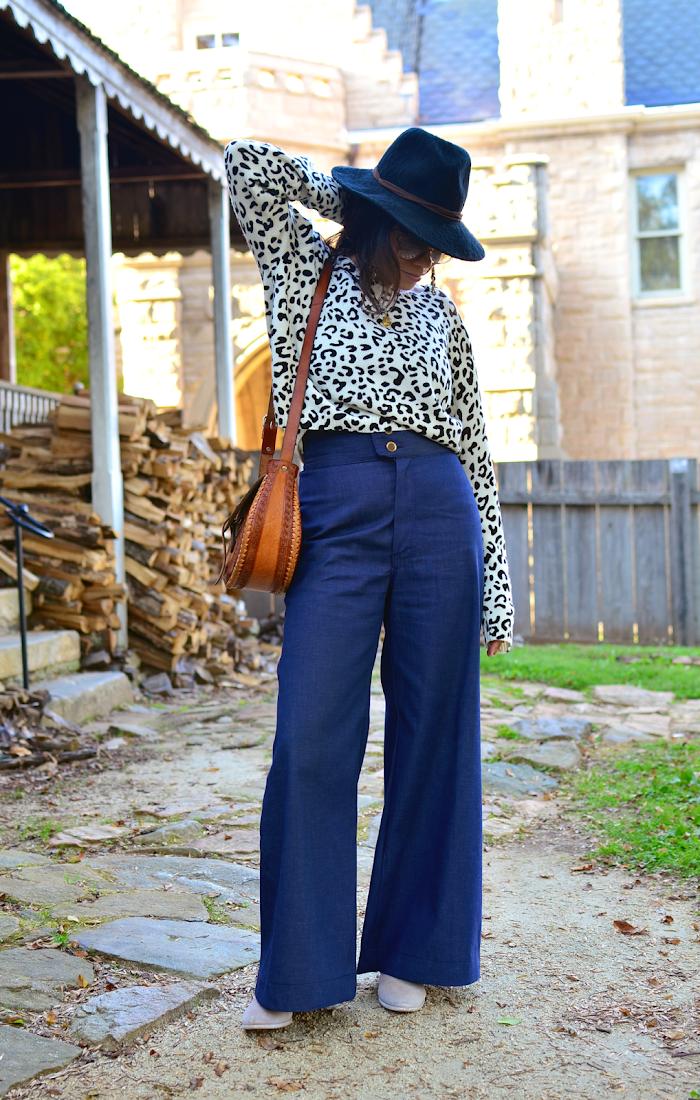 Wide Legged Jeans Street Style