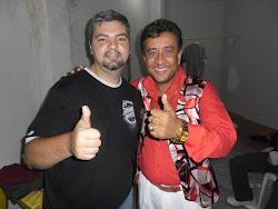 Eduardo Greco da empresa Greco`s Sound e Paulinho Gogó