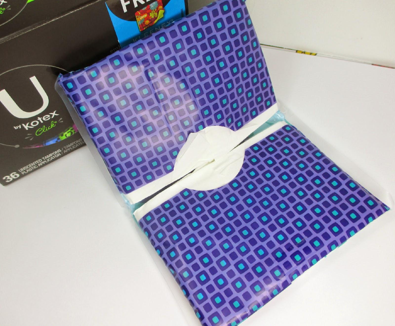u by kotex click tampons kleenex slim packs walmart coupon