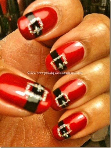 Nail obsession christmas nail designs le belle amour prinsesfo Image collections