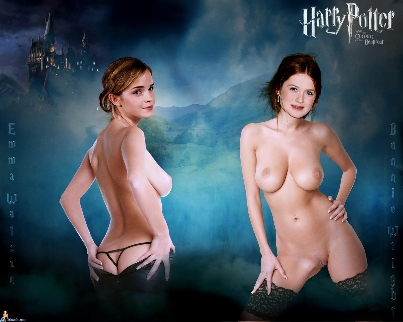 Something is. naked harry potter ginny nude