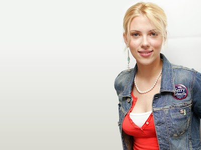 Scarlett Johansson-Beautiful style Wallpaper