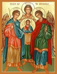 Sto. Mikael, Gabriel, dan Rafael