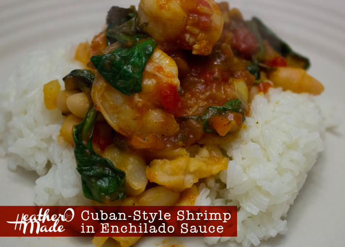 Cuban-Style Shrimp in Enchilado Sauce, recipe.