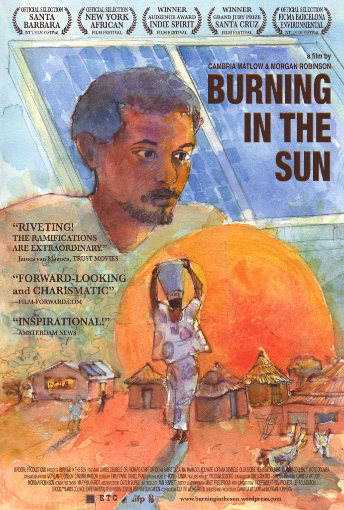 """My review of """"Burning in the Sun"""" - I loved this unique eco-documentary. """""""