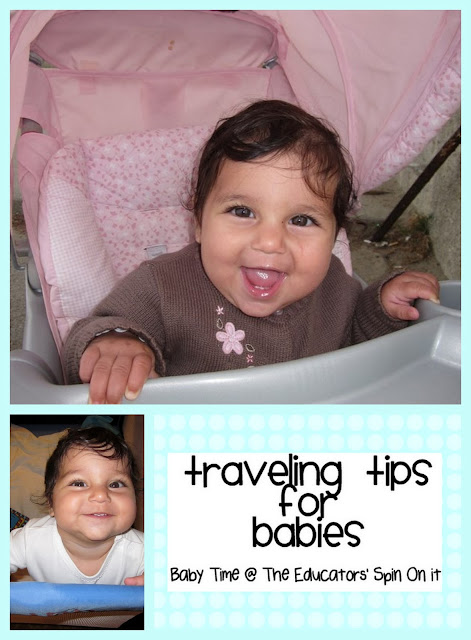 Travel Tips with Babies for Baby Friendly Hotel Fun from The Educators' Spin On It