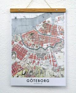 Karta Göteborg, poster, posters, print, prints, tavla, tavlor, kartor, kartan, göteborgs, innerstad, vallgraven, avenyn, järntorget, inredning, inredningsdetaljer, detalj, detaljer, webbutik, webshop, webbutiker, nettbutikk, nettbutikker, inredningsblogg, blogg, inredningsbutik, presenttips, present, presenter, owl streets,