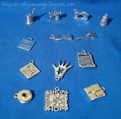 my Western Washington Quilt Shop Tour 2012 charm collection