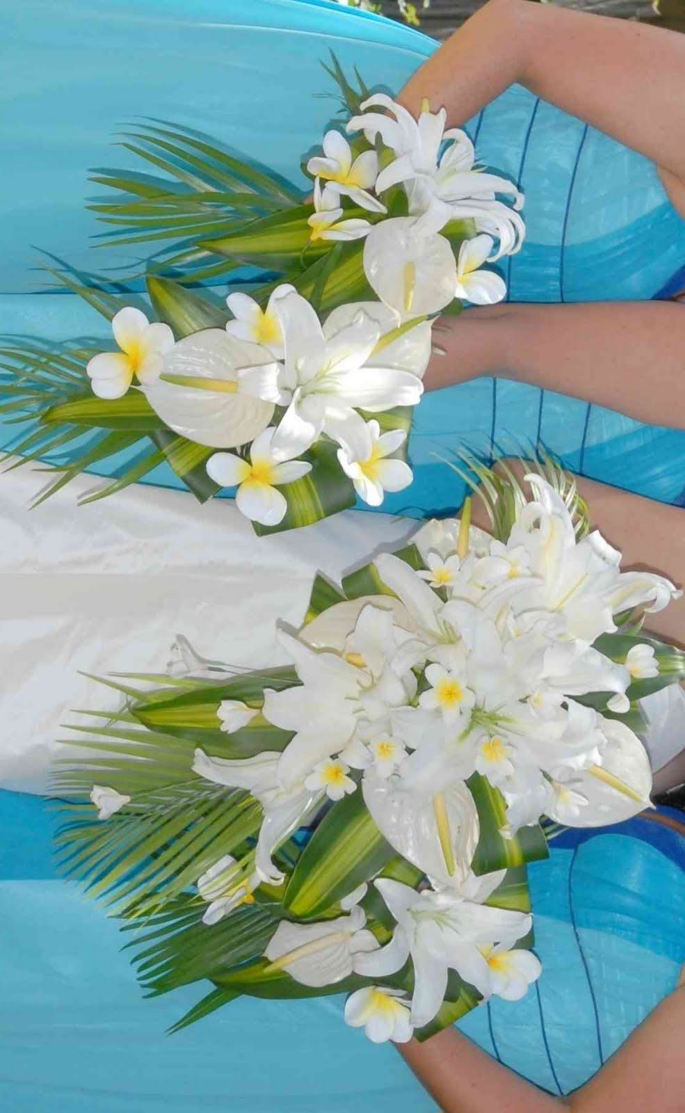 Silk wedding flowers pictures beautiful silk wedding for Bridal flower bouquets ideas