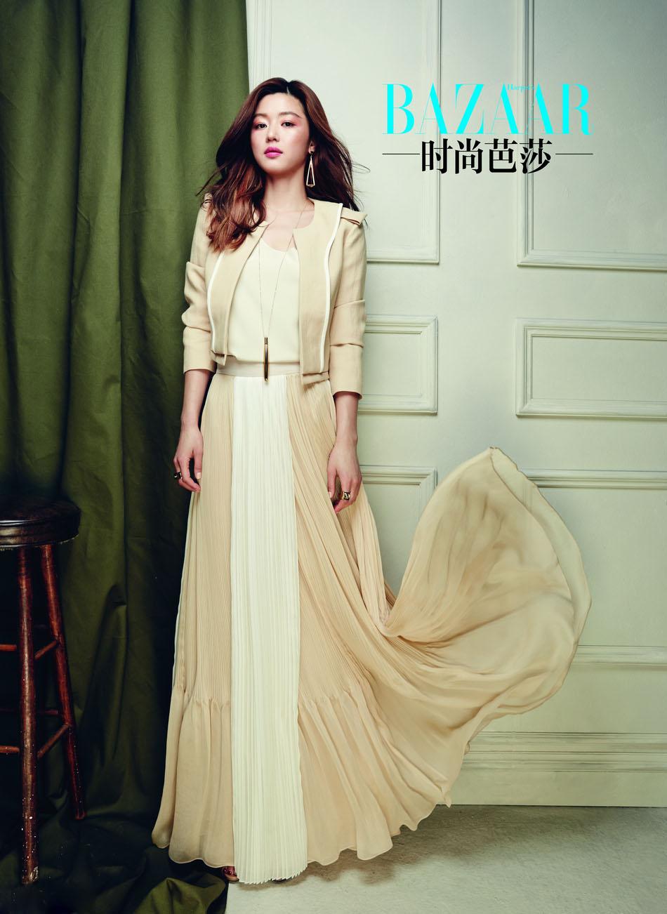 Jeon Ji Hyun Harper's Bazaar China May 2014