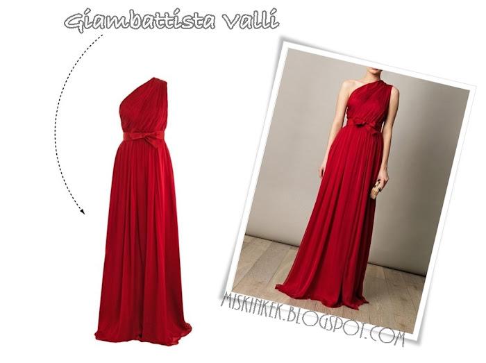 mezuniyet modelleri,kırmızı elbise