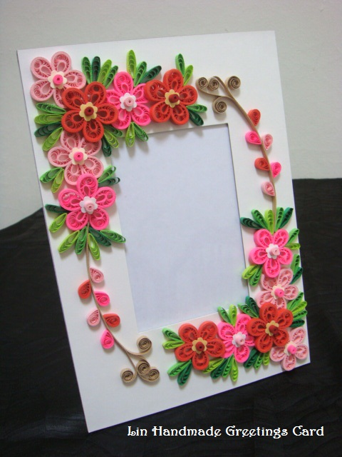 Paper flower picture frame idealstalist paper flower picture frame mightylinksfo