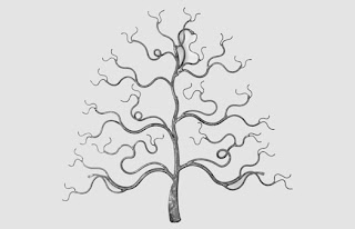 Silver Word Weave Tree