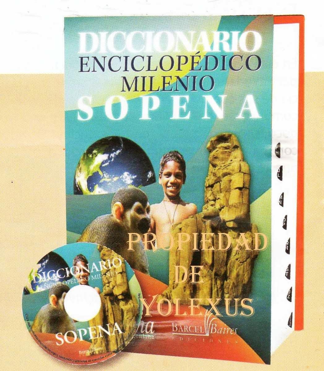 Nuevo diccionario enciclop dico milenio sopena credilibros for 4 milenio ultimo programa