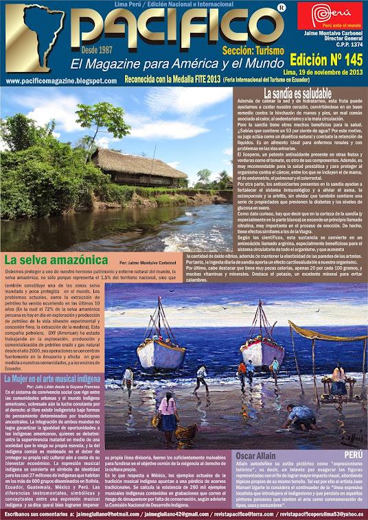 Revista Pacífico Nº 145 Turismo
