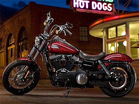 2013 Harley-Davidson FXDB Dyna Street Bob pictures