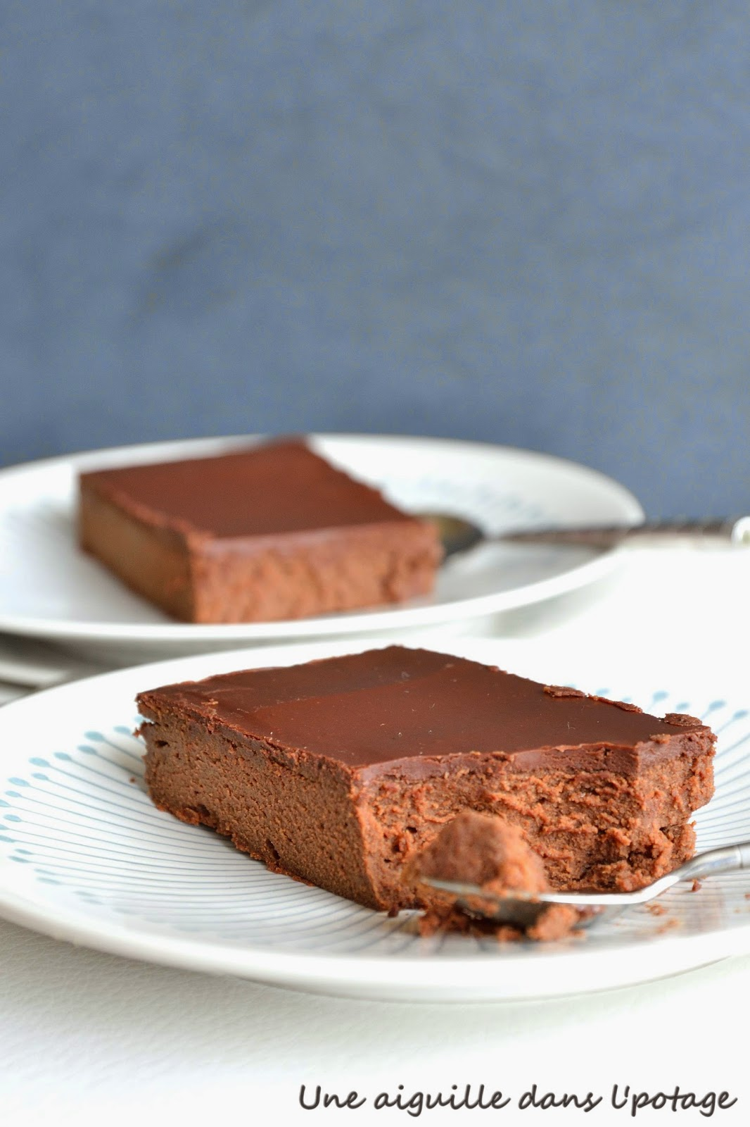 gâteau fondant mascarpone chocolat