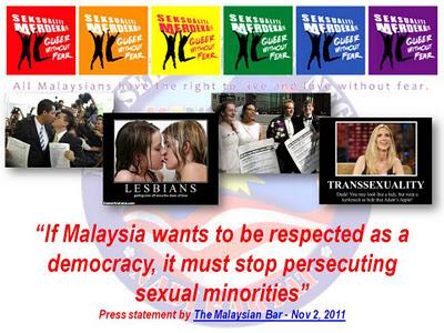 MALAYSIA UNTUK GAY,LESBIAN,MAKNYAH..ADUHAI!!
