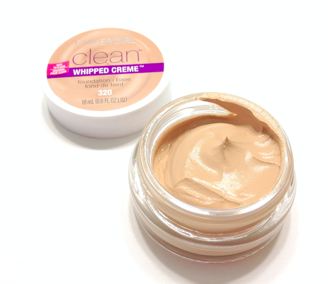 Cover Girl Clean Whipped Creme Foundation in #320 Creamy Natural