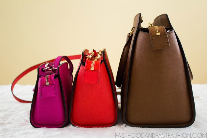 Where To Buy Michael Kors Selma Satchels - 2014 01 Michael Kors Selma Handbag Comparison