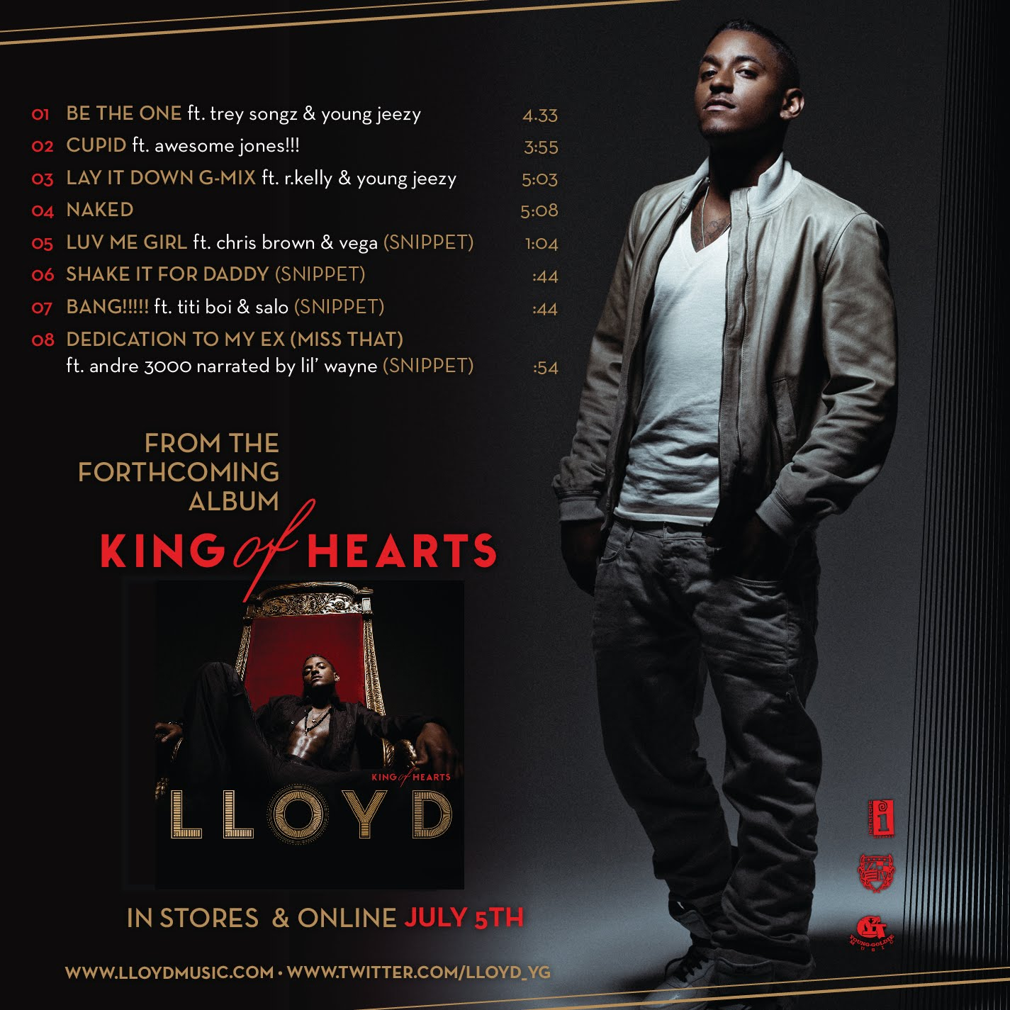Lloyd/King Of Hearts (Album Review) : Flavor Of R&B / HIPHOP