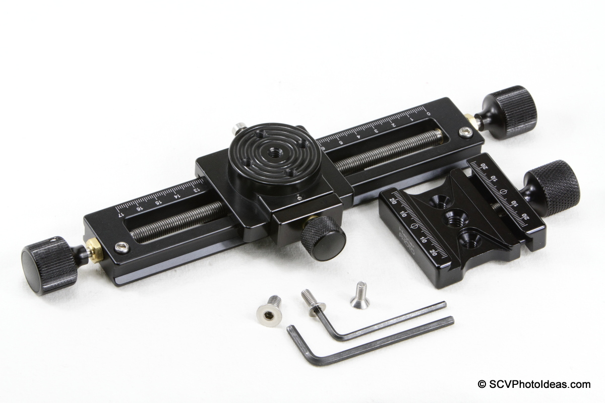 Hejnar PHOTO MS-3 GMFR w/ F62Ab QR clamp disassembled