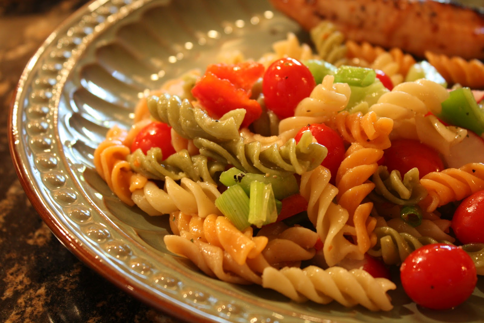 Easy Pasta Salad Recipe Wendys Hat