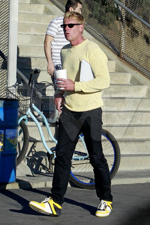 Joe Simpson com o novo visual (Foto: Reprodução/Site TMZ)