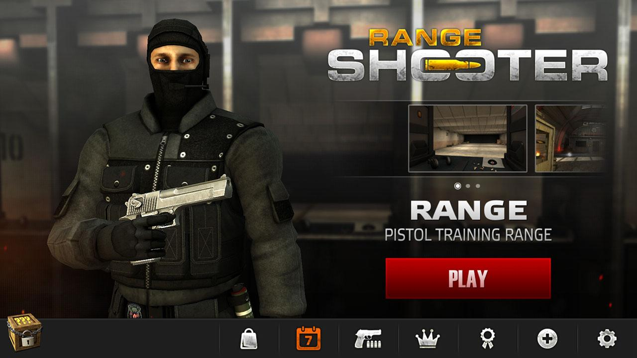 Range Shooter Gameplay IOS / Android