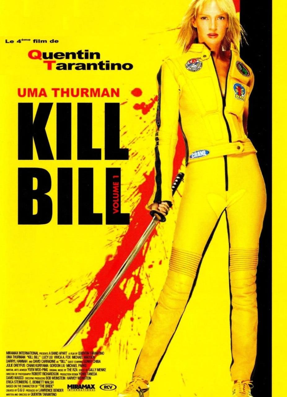 kill bill vol 1 e 2 videoteca cerebral