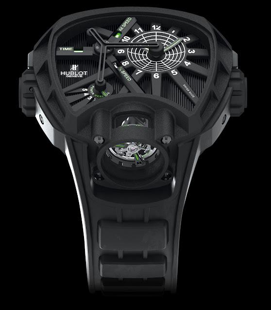 HUBLOT - Masterpiece MP-02 Key of Time side