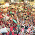 ELEIÇÕES 2012: Chumbinho comemora vitória no centro da cidade