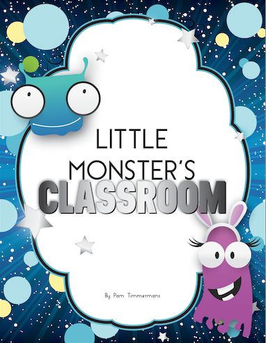 Little Monster's Classroom Book Cover
